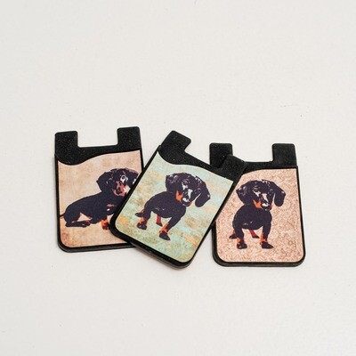 ​SILICONE CELLPHONE CARD HOLDER
