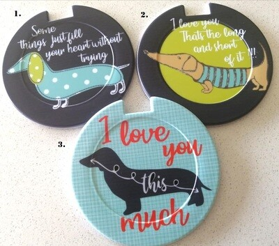 ​Plastic Licence Disc Holders - All About Love