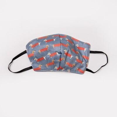 Long Dog Masks - Grey