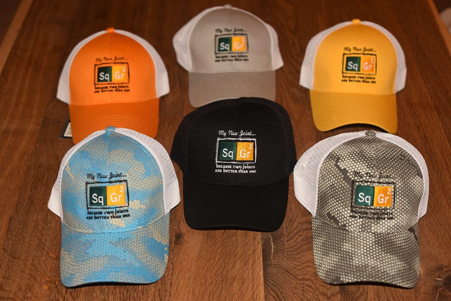 Simms Trucker Hats - Square Grouper 2
