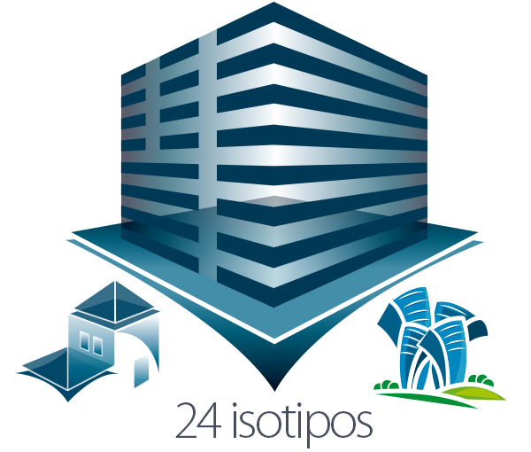 Pack 24 Isotipos Sector Inmobiliario
