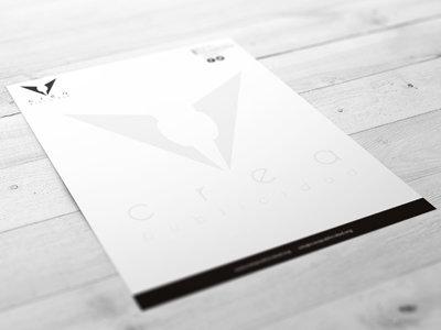 Diseño de papel de carta (1 o 2 caras)