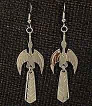 Earrings:  Waterbird, 2-Piece,  2