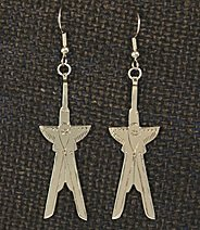 Earrings, Scissortails 1 piece,  2