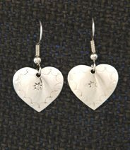 Earrings:  Hearts, Small 1