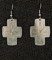 Earrings:  Southwest Crosses, Medium  1 1/2