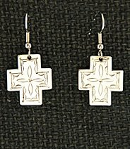 Earrings:  Southwest Crosses, Small 1