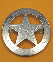 Tie Slide: Star & Circle 2 1/2