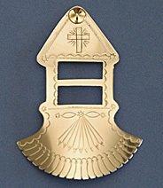 Tie Slide:  Chapel Slide, Style 1, 3 1/2