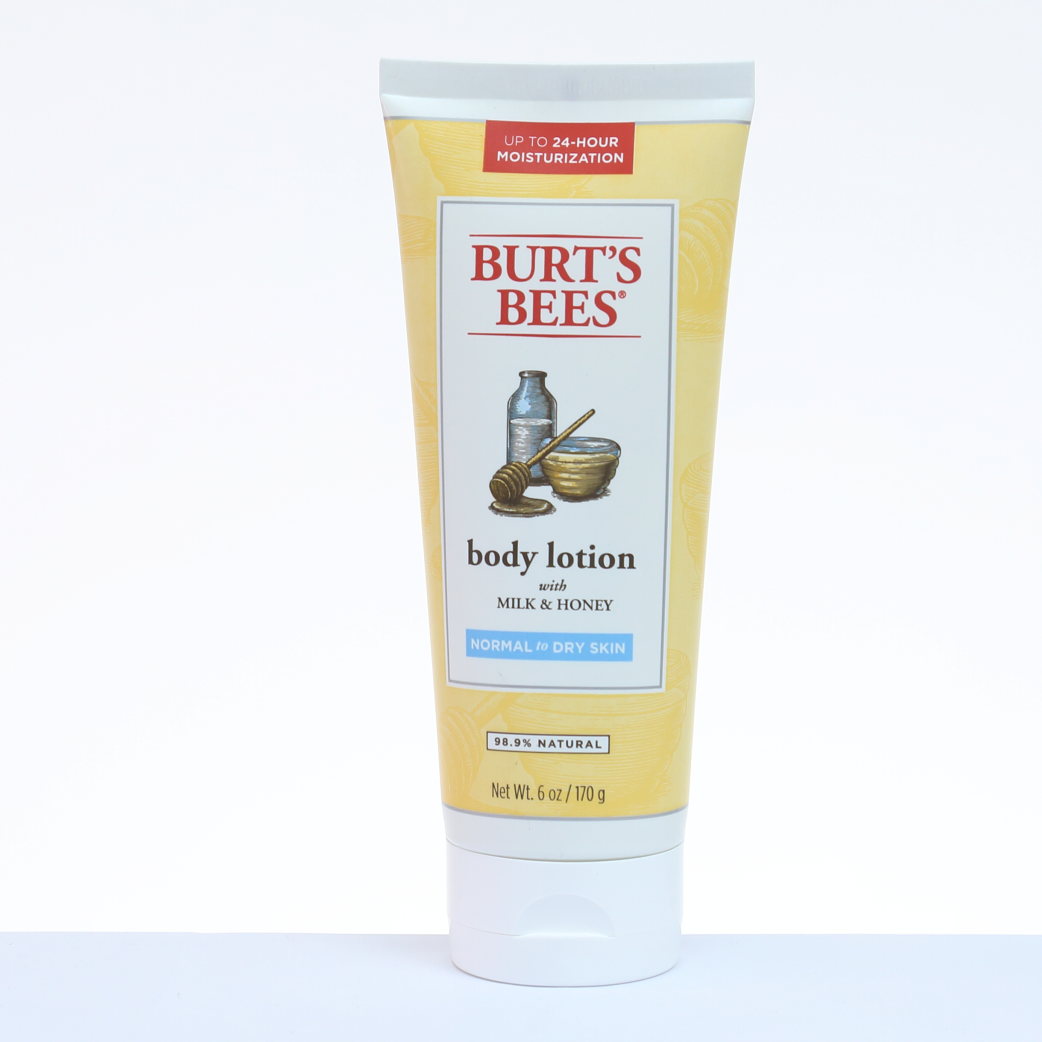 Burts Bees Loción Corporal Milk & Honey - Piel Normal 6 oz. / 170 g.