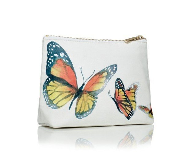 Limited Edition Butterfly Cosmetic Bag JIBUTTERFLY