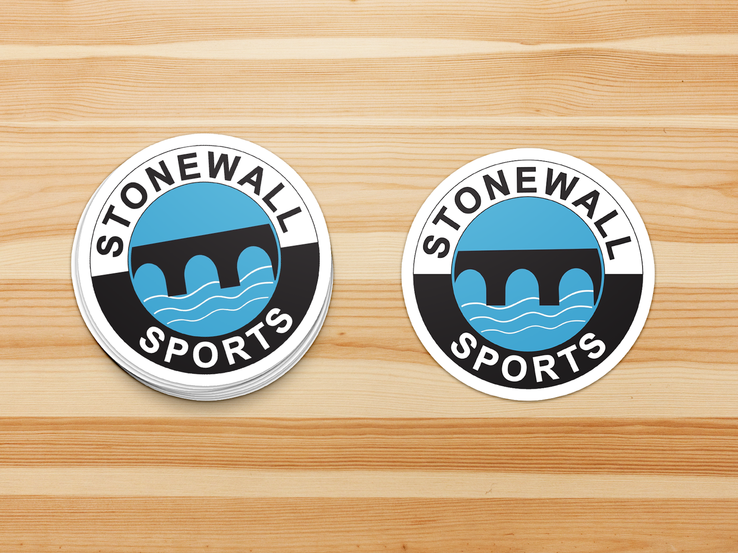 Stonewall Sticker - Round Logo