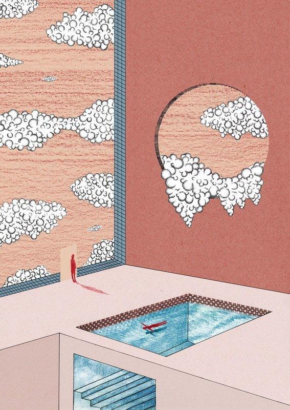 Bathe | A3 Print