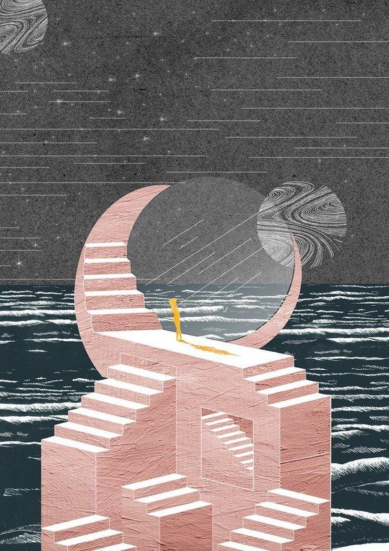 High Tide | A3 Print