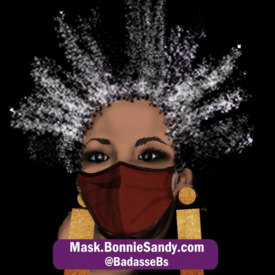 Nutmeg Face Cover Mask