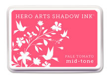 Pale Tomato Shadow Ink
