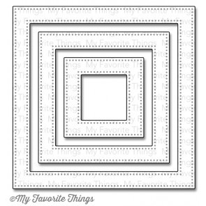 Pierced Square Frames Die-namic