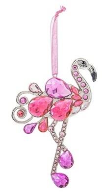 Ornament - Jeweled Flamingo