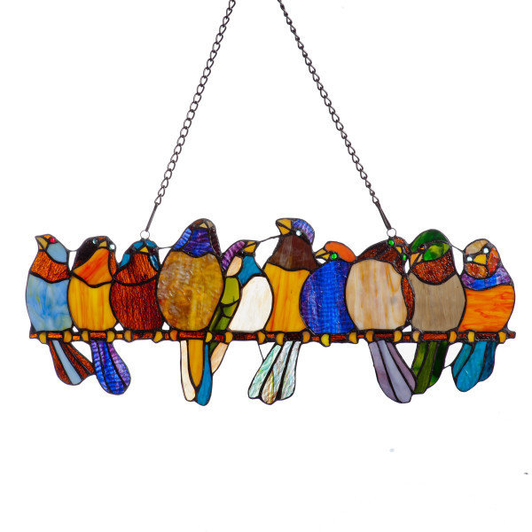 Panel - Birds on a Wire