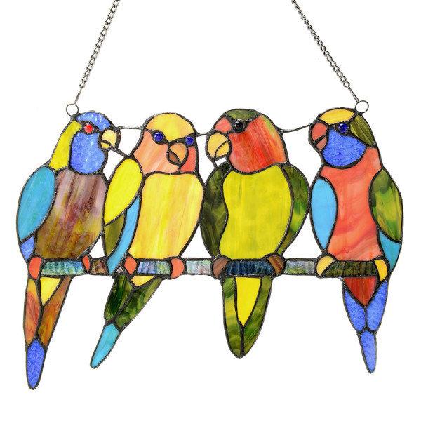 Panel - Tropical Birds