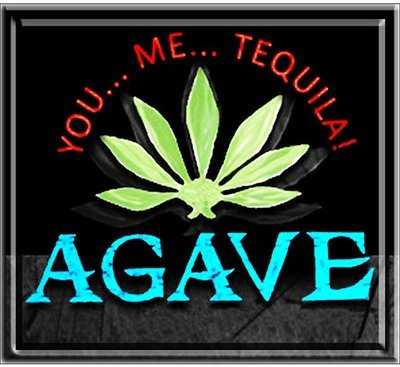 AGAVE TEQUILA BAR * 8'' x 8''
