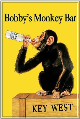 BOBBY'S MONKEY BAR * 8'' x 11''