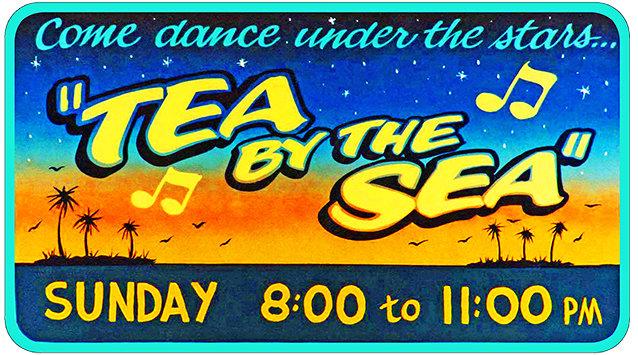 TEA BY THE SEA * 6'' x 11'' 10088