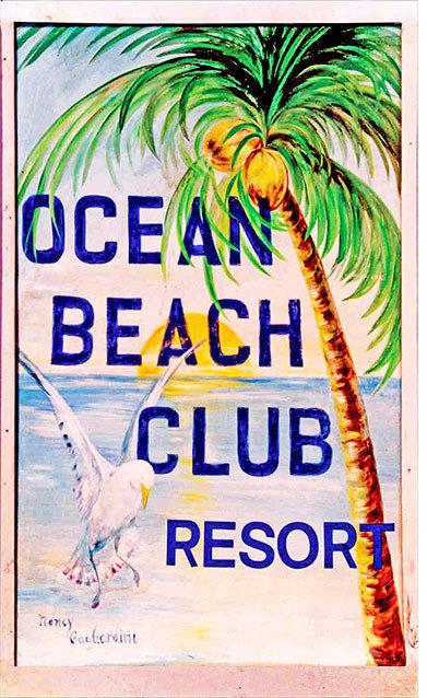 OCEAN BEACH CLUB * 6'' x 11'' 10130