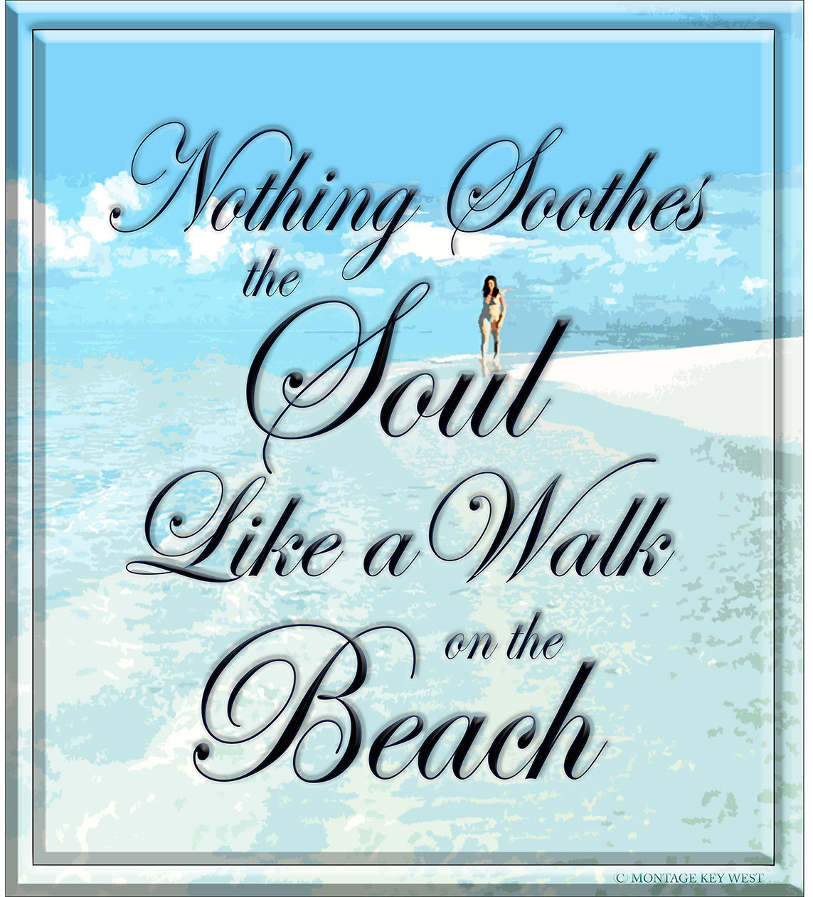 WALK ON THE BEACH * 8'' x 10'' 10137