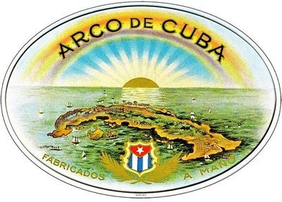 ARCO DE CUBA * 7'' x 11''