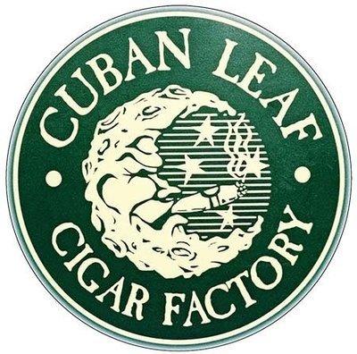 CUBAN LEAF CIGAR FACTORY * 8'' x 8''