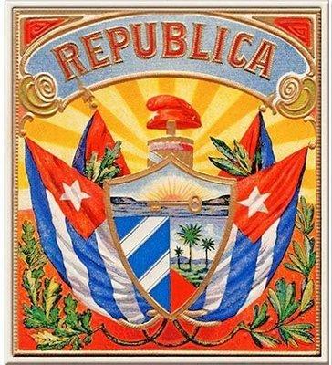 REPLUBLICA CIGARS * 8'' x 9''