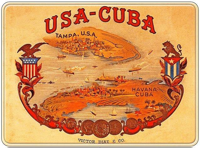 USA-CUBA * 8'' x 10'' 10194