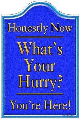 HONESTLY NOW BLUE * 6'' x 11''