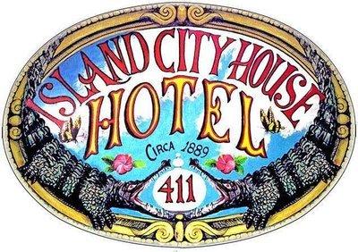 ISLAND CITY HOUSE HOTEL 2 * 8'' x 11''