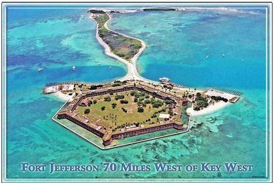 FORT JEFFERSON ARIAL * 6'' x 11''