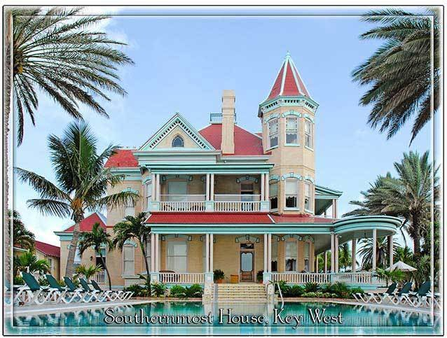 SOUTHERNMOST HOUSE KEY WEST * 8'' x 11'' 10309