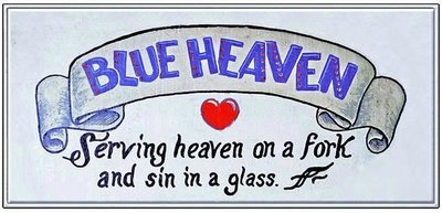 HEAVEN ON FORK SIN IN A GLASS * 5'' x 11''