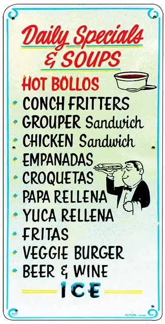 DAILY SPECIALS * 5'' x 11'' 10331