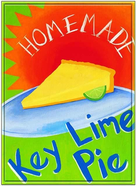 KEY LIME PIE 1 * 7'' x 11'' 10336