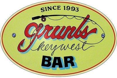 GRUNT'S BAR * 7'' x 11''