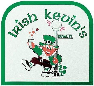 IRISH KEVIN'S DUVAL ST * 8'' x 9''