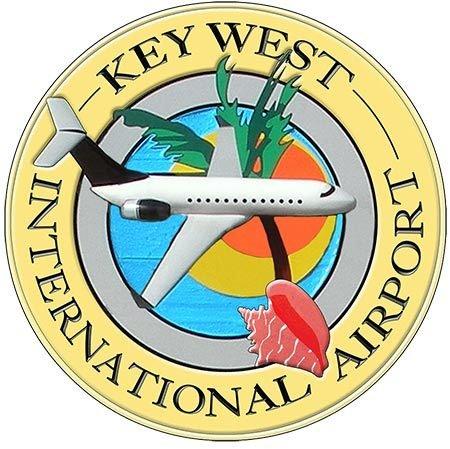 KEY WEST AIRPORT * 8'' x 8'' 10395