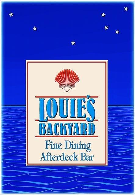 LOUIE'S BACKYARD * 6'' x 11'' 10403