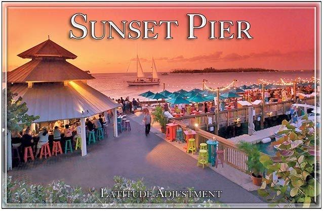 SUNSET PIER * 7'' x 11'' 10408