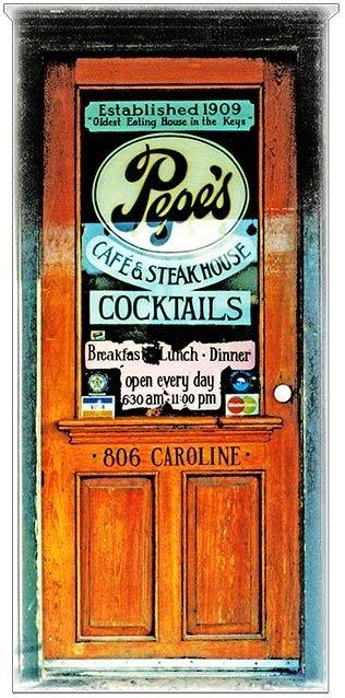 PEPE'S DOOR * 3'' x 11'' 10415