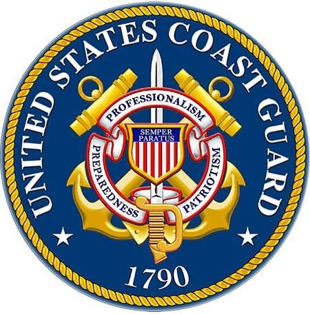 COAST GUARD SEAL * 8'' x 8'' 10435