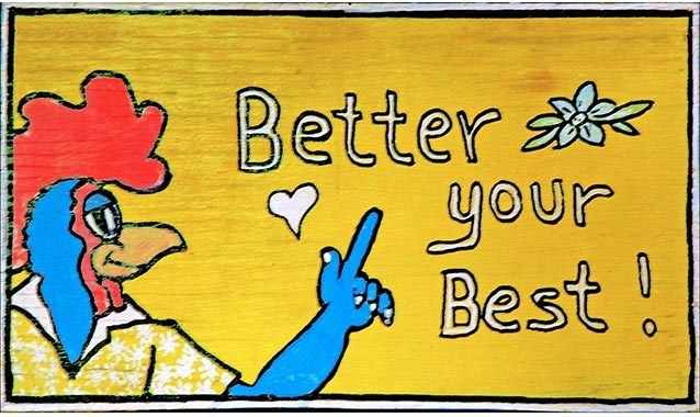 BETTER YOUR BEST * 6'' x 11'' 10449