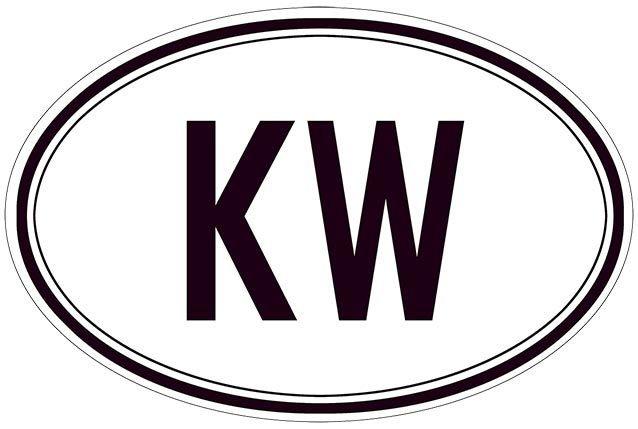 KW BLACK AND WHITE * 7'' x 11''