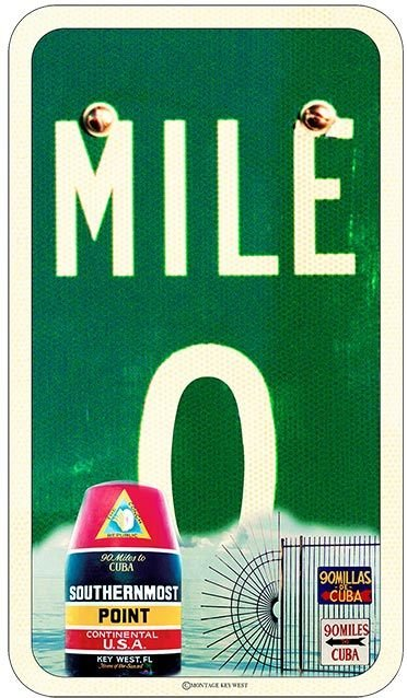 MILE 0 SMP * 6'' x 11'' 10557